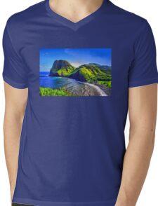 Kahakuloa Head Mens V-Neck T-Shirt