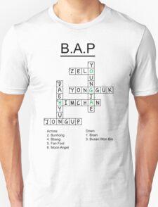 B.A.P Crossword Puzzle T-Shirt