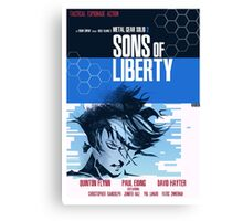 Liberty - Metal Gear  Canvas Print
