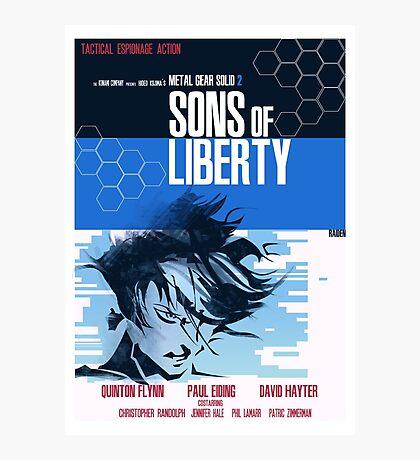 Liberty - Metal Gear  Photographic Print