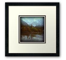 Somewhere in New Zealand - 1978 Framed Print