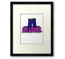 Knee Deep in the Clunge - The Inbetweeners Framed Print