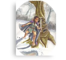 Hunting Giants Canvas Print