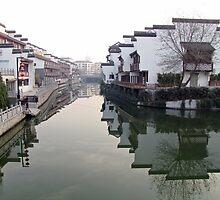 Canal, Nanjing, Jiangsu, China by DaveLambert