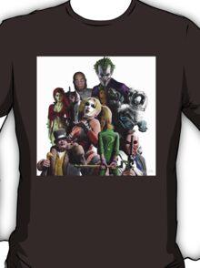 Arkham City Villains Collage T-Shirt