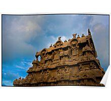 Shore Temple, Mahabalipuram Poster