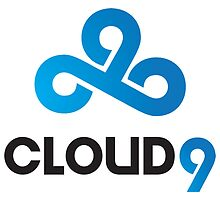 C9 CLOUD 9 GAMING BASIC LCS CSGO LOGO by Mike Edinger