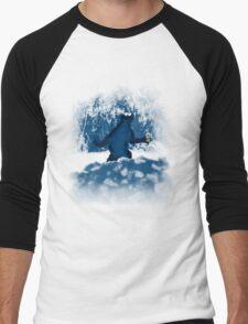 Patterson's Blue Foot Men's Baseball ¾ T-Shirt