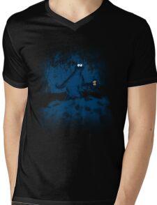 Patterson's Blue Foot Mens V-Neck T-Shirt