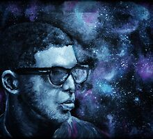 Drake in space by delaraaaxo