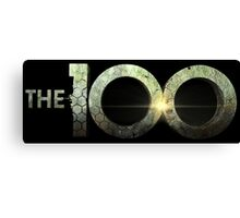 The 100 TV Series Canvas Print