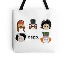 Depp. (Johnny Depp characters) Tote Bag