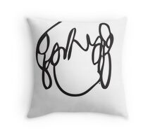 Ramona Flowers Black - Scott Pilgrim vs The World Throw Pillow