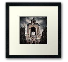 The Plight Of Man Framed Print