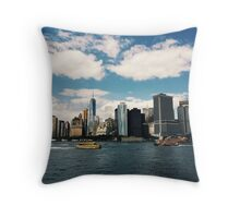 New York City - Manhattan Throw Pillow