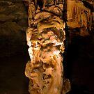 Dripstone Column - Cango Caves by serendip