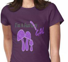 I'm A Fun Gal (In purple) Womens Fitted T-Shirt