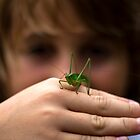 Keegan's Grasshopper by Joe Randeen