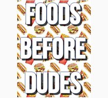 FOODS BEFORE DUDES Women's Fitted Scoop T-Shirt