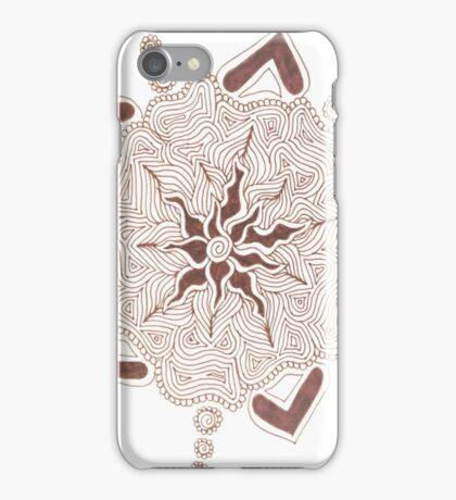 line work iPhone Case/Skin