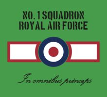 No. 1 Squadron - RAF One Piece - Short Sleeve