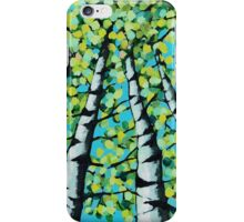 Tall Trees in acrylic iPhone Case/Skin