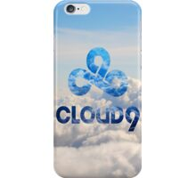 C9 CLOUD 9 GAMING CLOUDY LCS CSGO LOGO iPhone Case/Skin