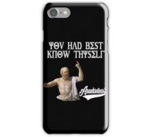 Socrates ~ Know Thyself Anachrotees' Design iPhone Case/Skin