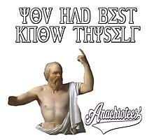 Socrates ~ Know Thyself Anachrotees' Design Photographic Print
