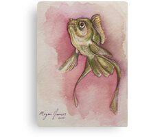 Sea Sick Fish Canvas Print