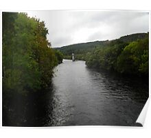 River Ness at Fort Augustus Poster