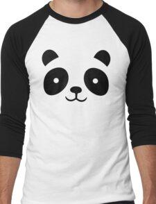 Panda Bamboo Camouflage Men's Baseball ¾ T-Shirt