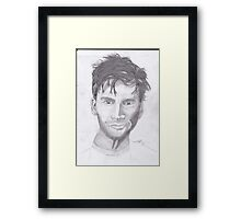 David Tennant 1 Framed Print