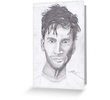 David Tennant 1 Greeting Card
