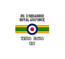 No. 3 Squadron - RAF Photographic Print