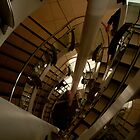Spiral Staircase - The Mall, Blackburn by Peter Elliott
