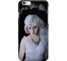 Moon girl child beauty iPhone Case/Skin