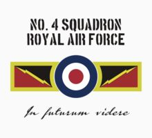 No. 4 Squadron - RAF One Piece - Long Sleeve