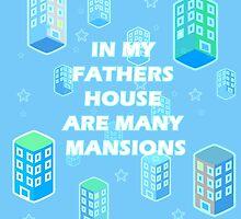 JOHN 14:2  MANY MANSIONS by Calgacus