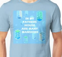 JOHN 14:2  MANY MANSIONS Unisex T-Shirt