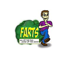 Farts - All of the fun none of the mess Photographic Print
