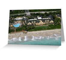 Disney's Vero Beach Resort Greeting Card