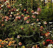 Old-Time Garden by RC deWinter
