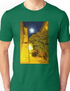 Full Moon in Gassin, Southern France Unisex T-Shirt