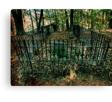 Witches Grave Canvas Print