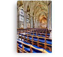 Holy and Undivided Canvas Print