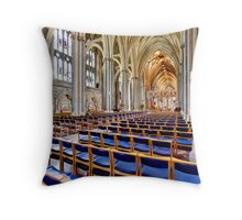 Holy and Undivided Throw Pillow