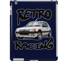 Retro racing 4 iPad Case/Skin
