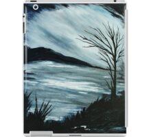 Black and White Landscape iPad Case/Skin