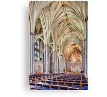 Holy and Undivided 2 Canvas Print